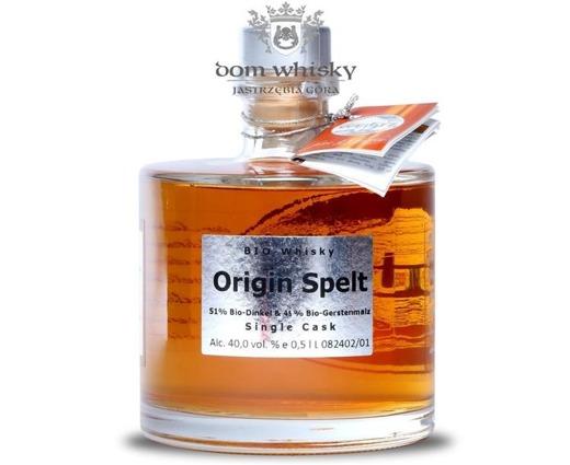 Weutz Origin Spelt Bio-whisky / 40,0% / 0,5l