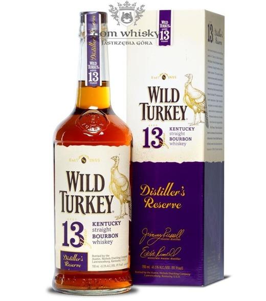 Wild Turkey 13-letni Distiller's Reserve/ 45,5% / 0,7l
