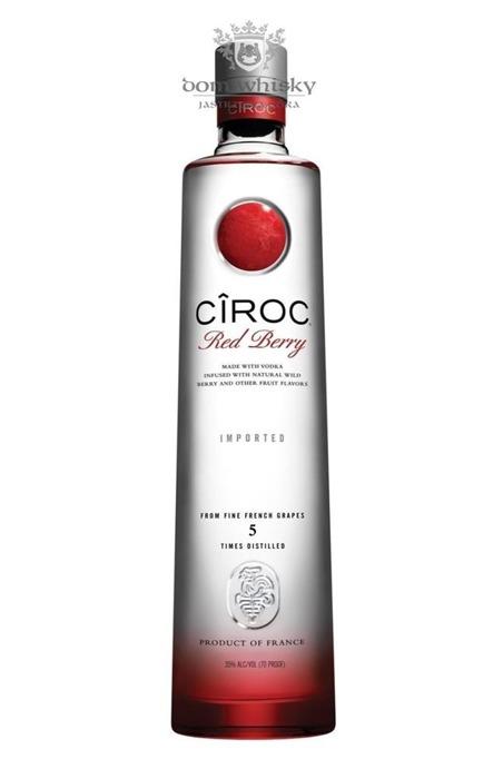 Wódka Ciroc Red Berry / 35% / 1,0l