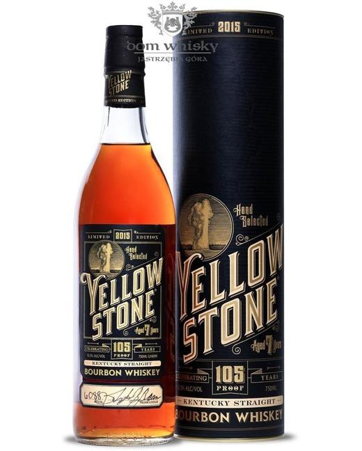 Yellowstone 7-letni,  Bourbon Whiskey (B.2015) / 52,5% / 0,75l