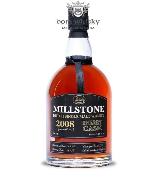 Zuidam Millstone 2008, Sherry Cask (Holandia) / 46% / 0,7l