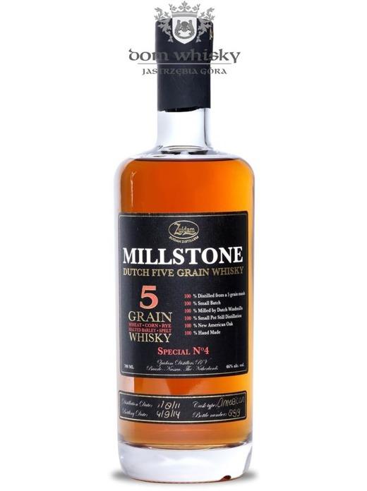Zuidam Millstone 5-letni Grain Whisky (Holandia) / 46% / 0,7l