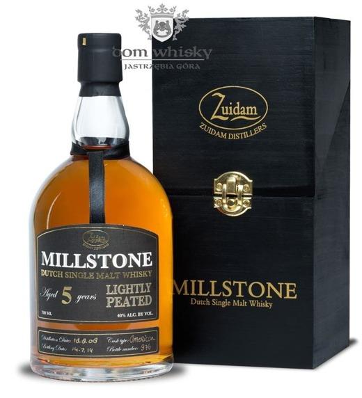 Zuidam Millstone 5 letni Lightly Peated (Holandia) / 40% / 0,7l
