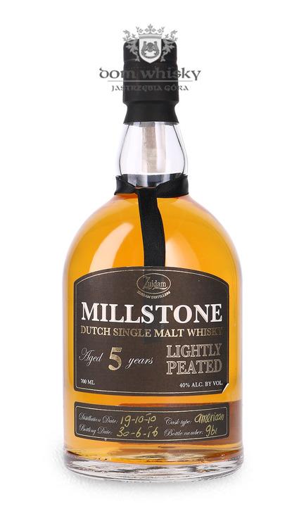 Zuidam Millstone 5 letni Lightly Peated(bez opakowania) (Holandia) / 40% / 0,7l